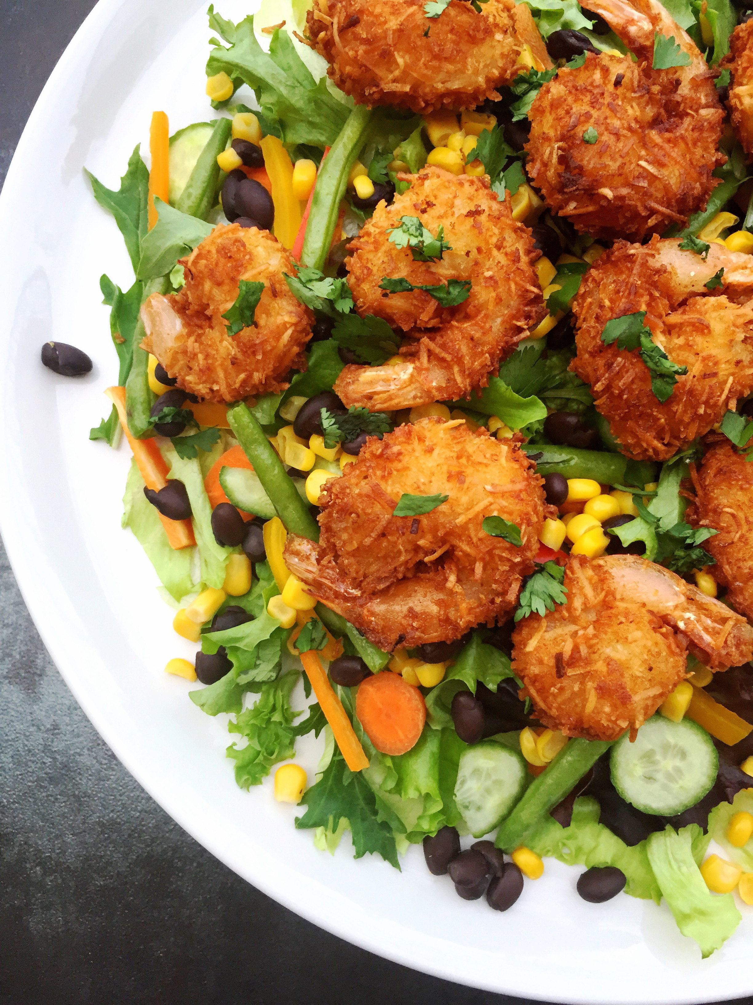 Coconut Shrimp Salad – BeautyLifestyleChicago